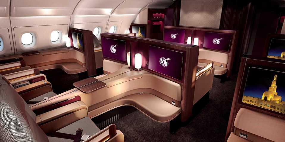 Qatar  First Class Photo