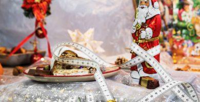4 Trucos para no subir de peso en navidad