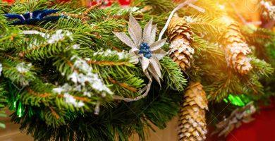 Decoraciones navideñas de último minuto
