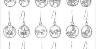 Nueva tendencia para cerrar el 2019: Pendientes del zodiaco
